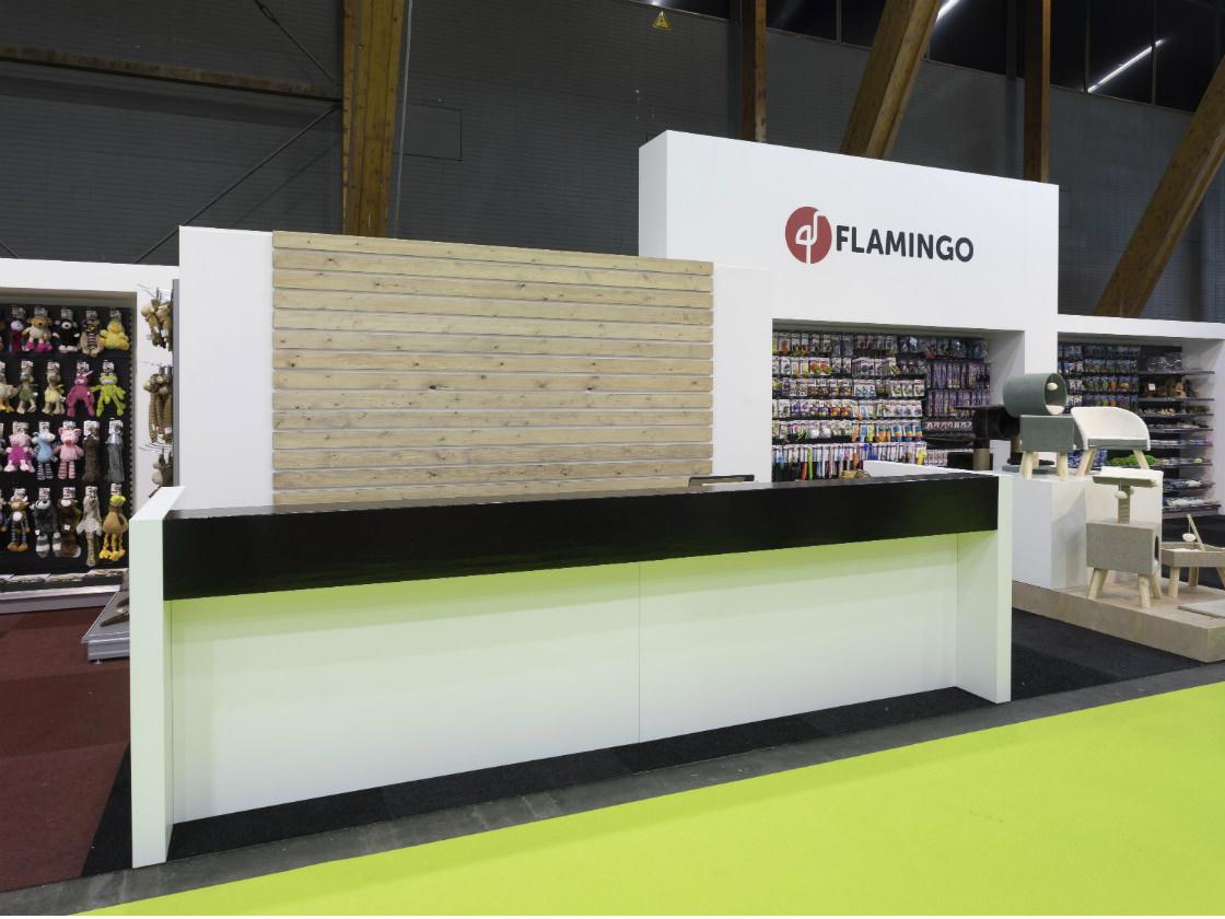 Alline standbouw - referentie houtbouw - Flamingo 5