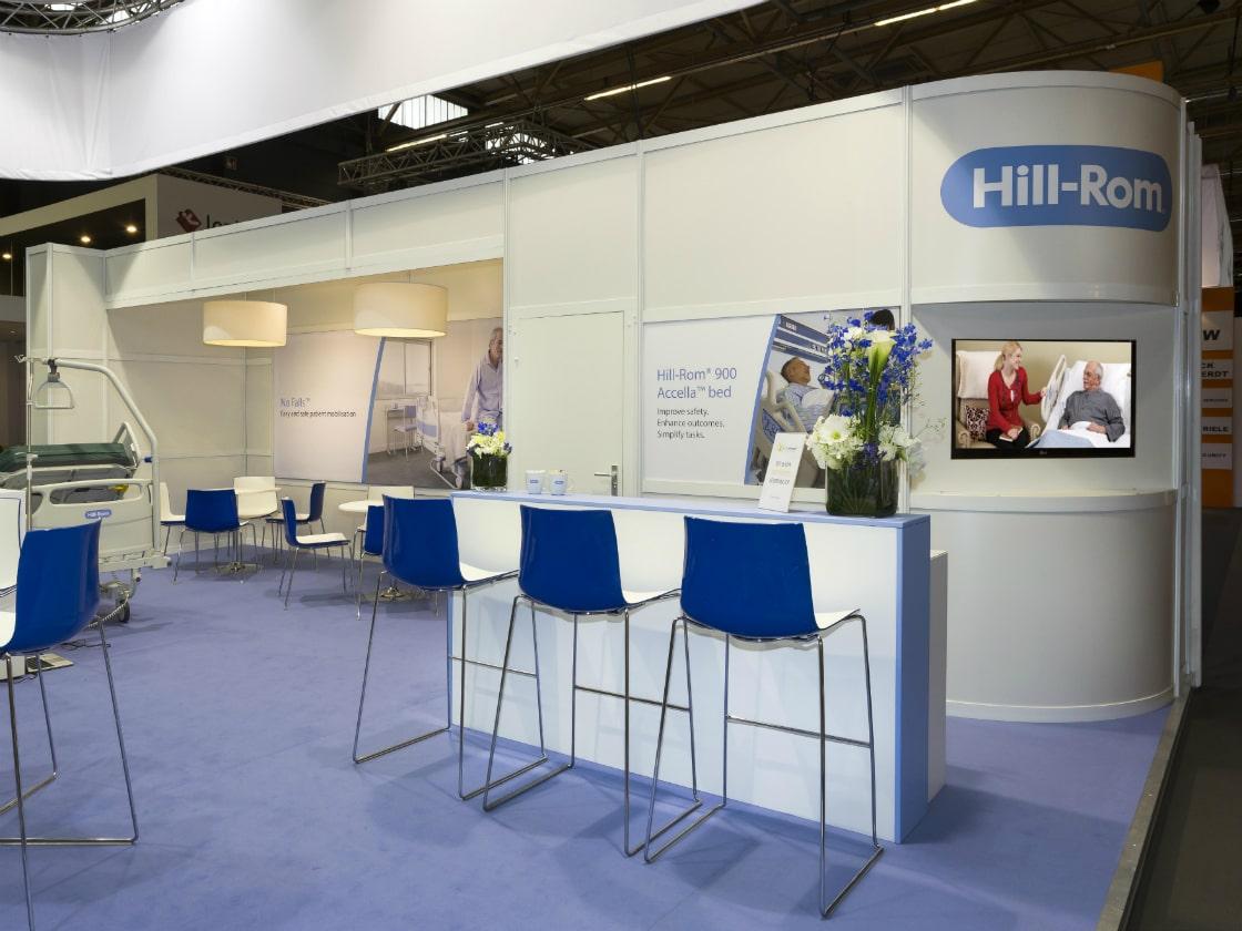 Alline standbouw - referentie systeembouw - Hill-Rom 4