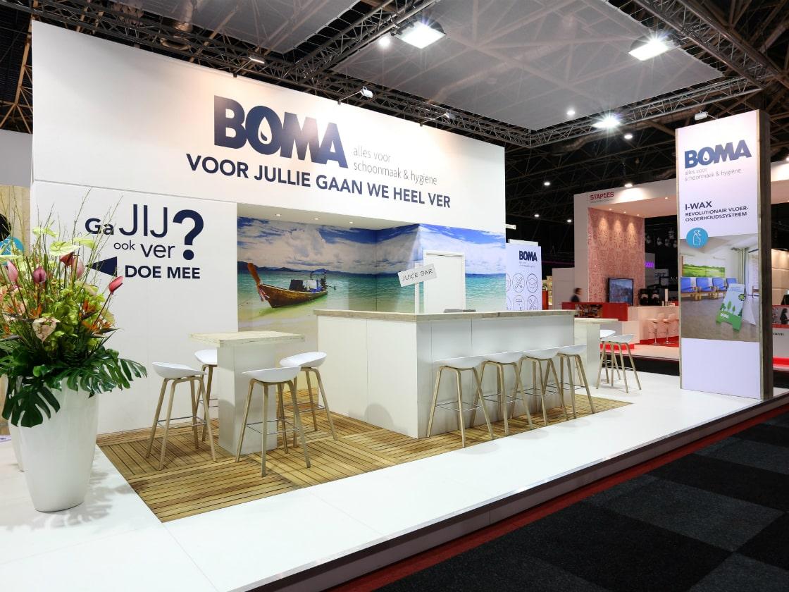 Alline standbouw - referentie traditionele bouw - Boma 2017 1