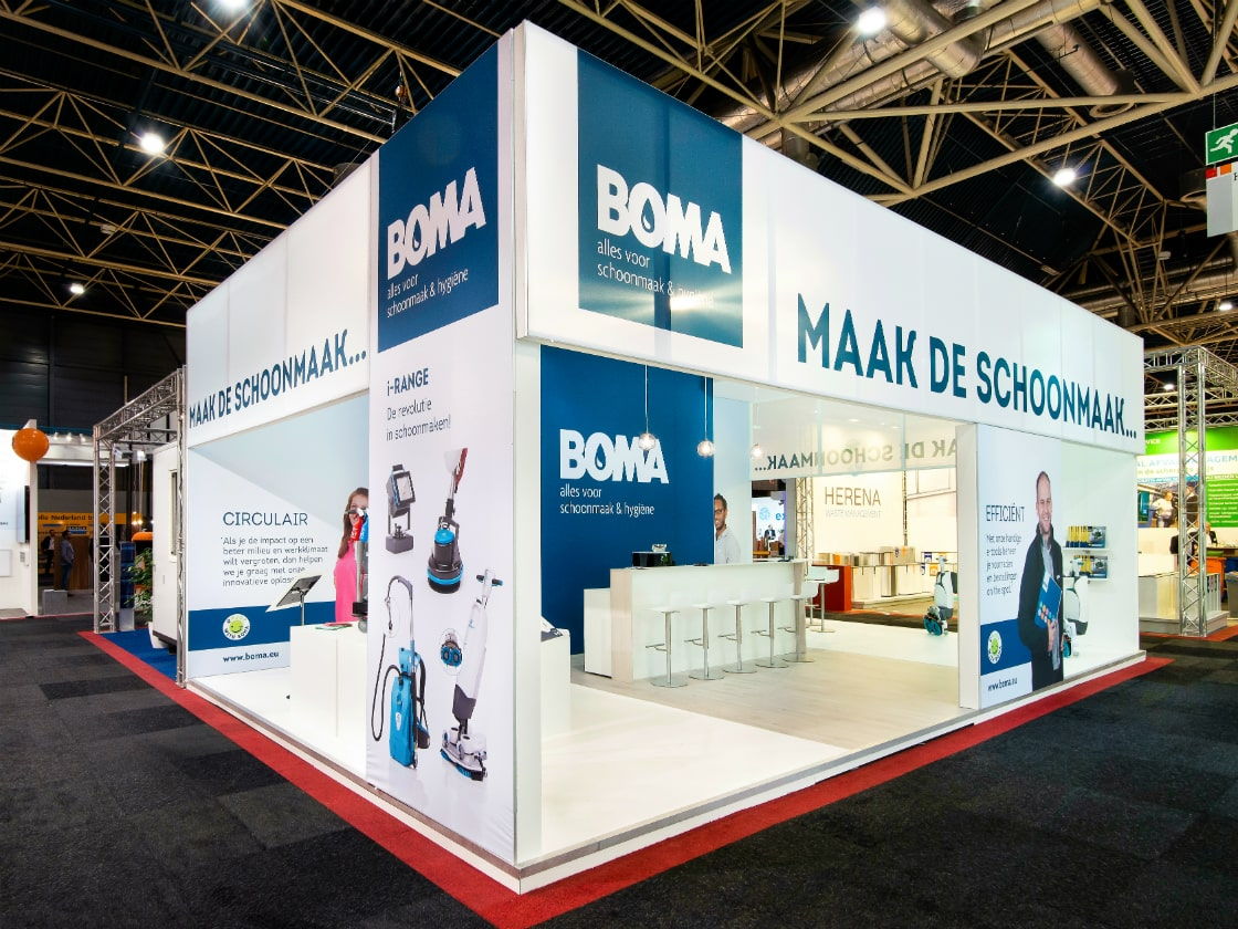 Alline standbouw - referentie traditionele bouw - Boma 2018 1