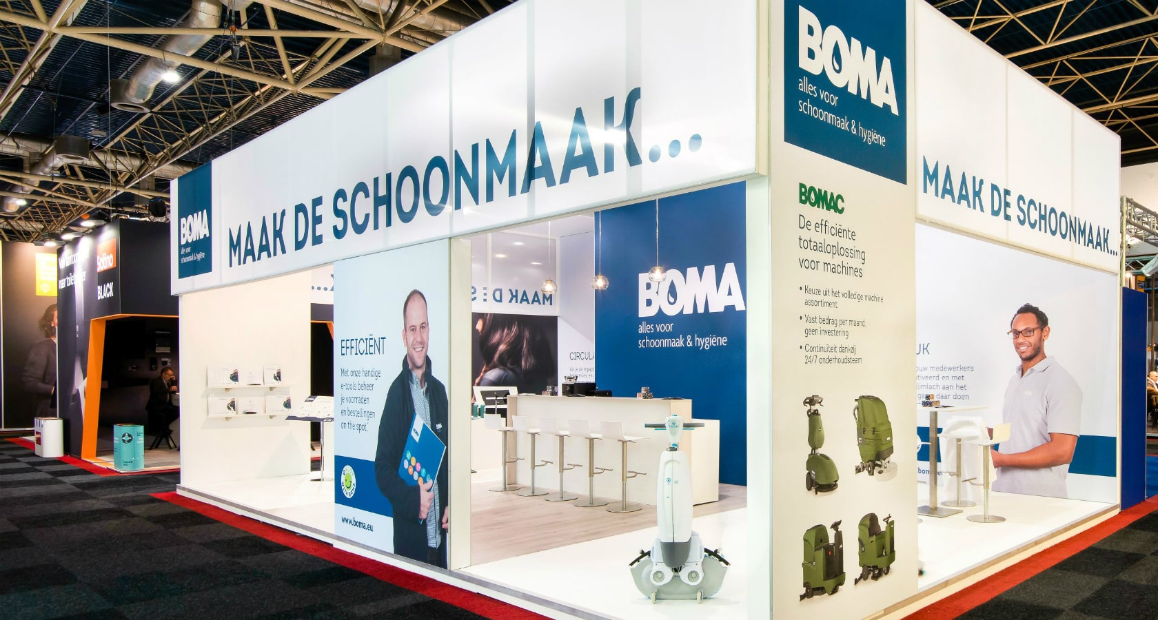 Alline standbouw - referentie traditionele bouw - Boma 2018 header