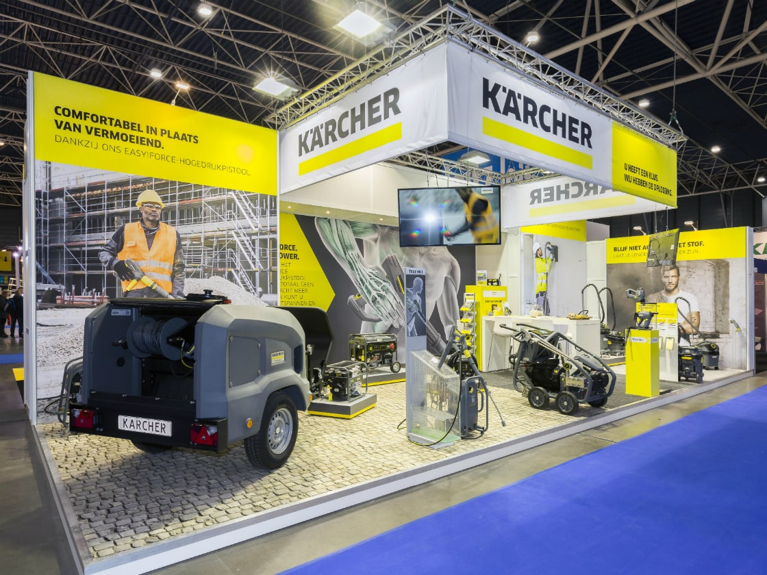 Alline standbouw - referentie systeembouw - Karcher NL 4