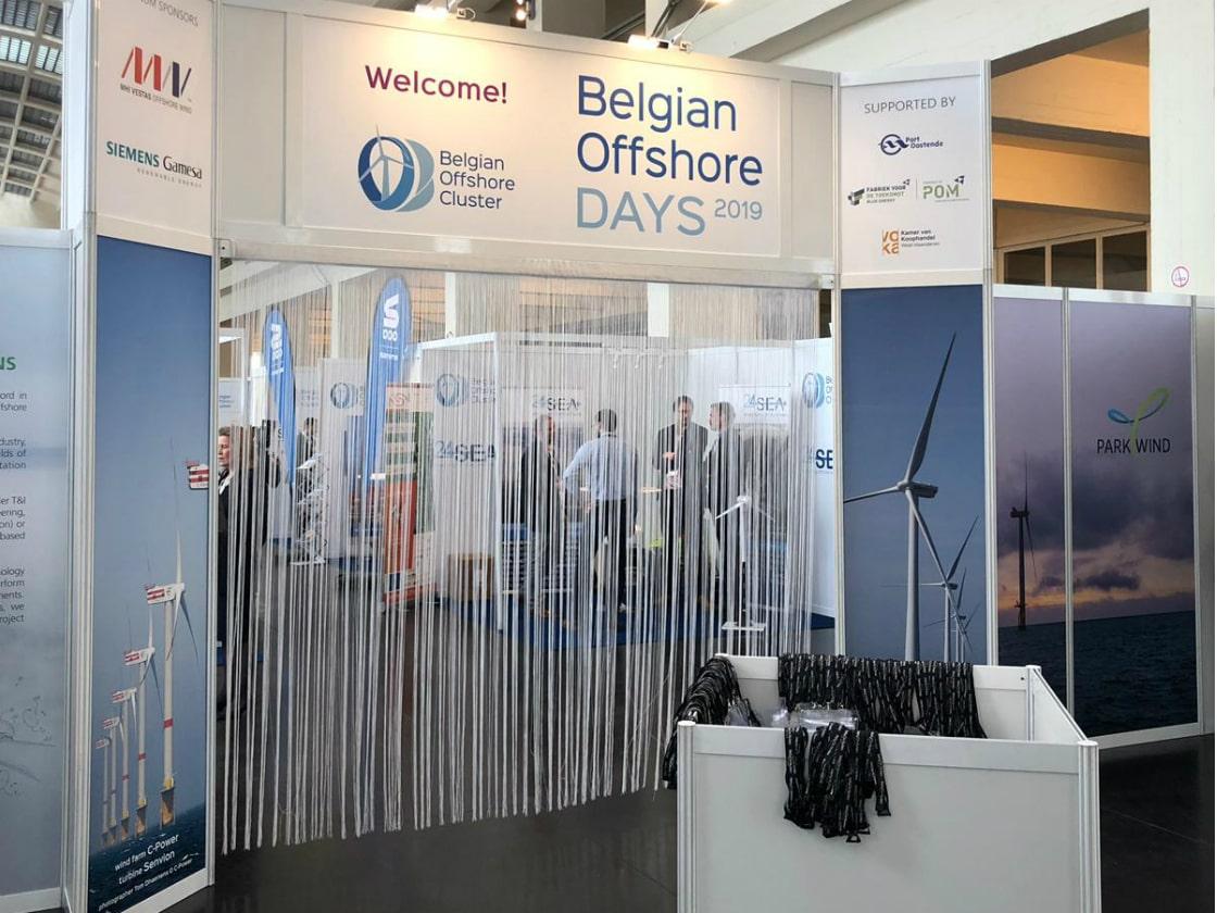 Alline Standbouw - referentie projectbouw - Belgian Offshore days 2019 2