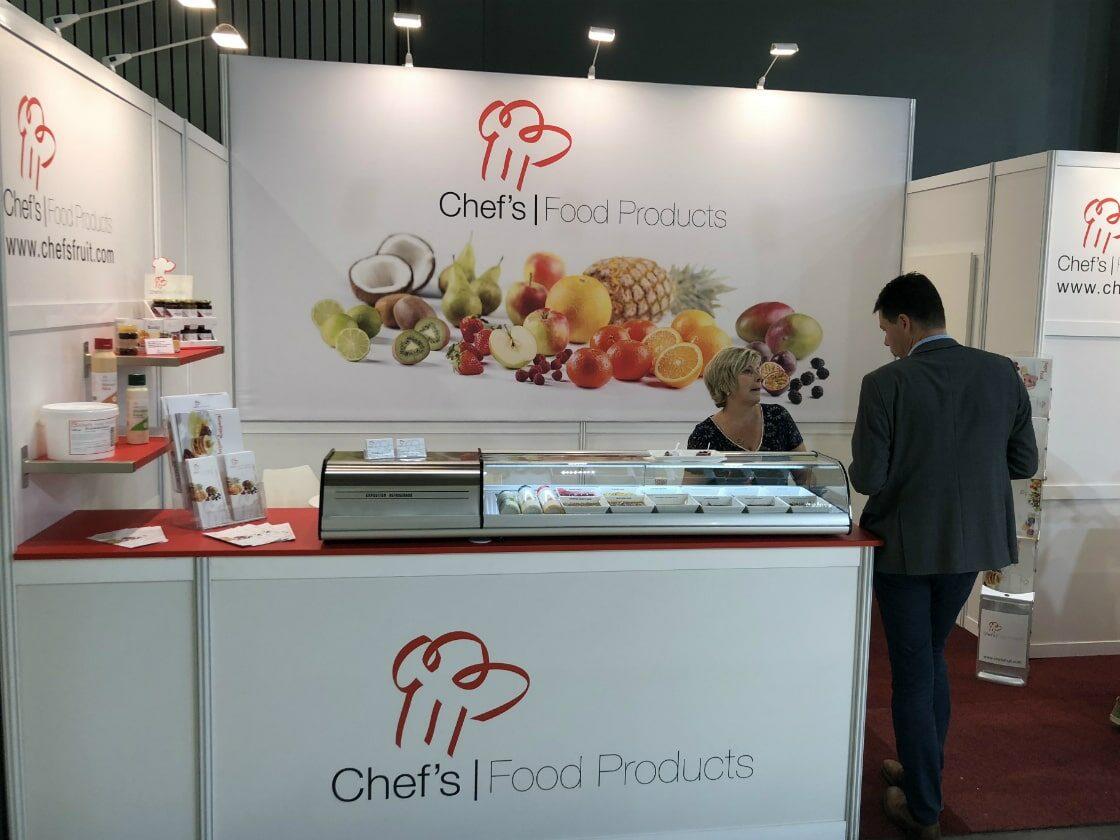 Alline standbouw - referentie systeembouw - Chefs food 2