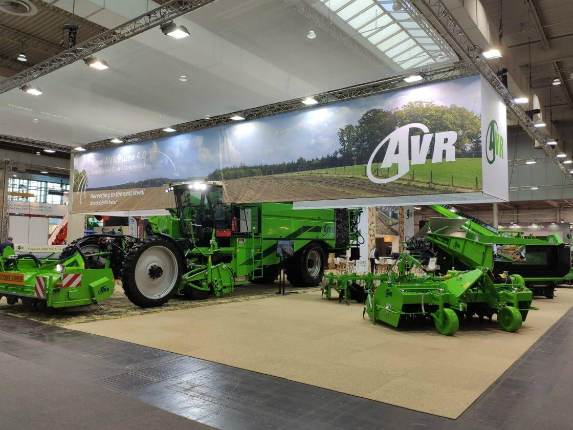 Alline standbouw - referentie systeembouw - AVR Agritechnica 1